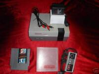NINTENDO NES SYSTEM CONSOLE NEW 72 PIN CONNECTOR INSTALLED MARIO DUCK HUNT GAME