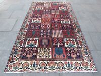 Antique Traditional Hand Made Vintage Oriental Red Wool Large Carpet 300x170cm