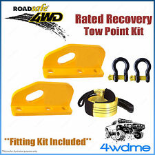 Toyota Landcruiser 200 Series Roadsafe Rated Recovery Heavy Tow Points FULL Kit