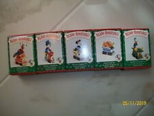 Hallmark Keepsake Ornament Set of 5 Mickey & Co. Minnie, Pluto, Donald, Goofy