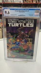 Teenage Mutant Ninja Turtles #9 (Mirage, 1986) CGC Graded 9.6 ~ TMNT ~ WP