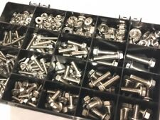 Assortment Kit of 310 A2 Stainless Steel Flange Bolts and Nuts M5 M6 M8 M10