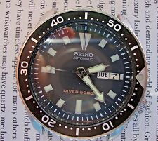 VINTAGE MANS SEIKO DIVERS WATCH MODEL 7S26-0028 WITH PEPSI BEZEL ALL S/S CASE/BA