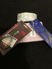 Cuticle Pusher & Trimmer, Nail Scissors, Nail files 100/180Grit, 4pc Dappen dish