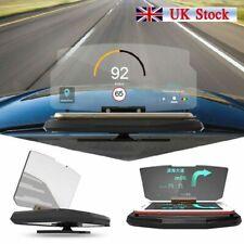 Car Heads up Display HUD Smartphone Mount Navigation Hot **UK FAST POST**
