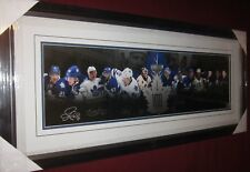 100 YEARS SIGNED BY 6 JOHNNY BOWER TUCKER KELLY ROBERTS  TORONTO MAPLE LEAFS