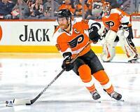 "Claude Giroux Philadelphia Flyers Unsigned Orange Jersey Skating 8"" x 10"" Photo"