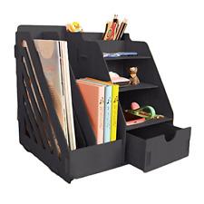 MineDecor Wood Desk Organizer Drawer Trays Office Desktop Organizers File Office