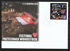Polska, Poland FDC Fi. 4472 Festiwal Przystanek Woodstock (c1)