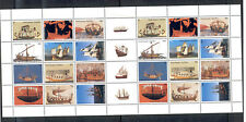 "Netherlands Antilles - Sheet of 28 Stamps Year 2003 MNH** ""History of Seafaring"""