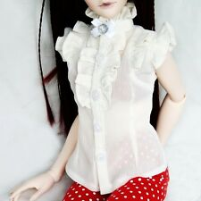 [wamami]80# White Shirt 1/4 MSD DZ AOD DOD LUTS BJD Gril Dollfie