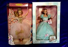 Birthday Wishes Barbie Doll or Barbie Nutcracker Sugar Plum Fairy First Edition