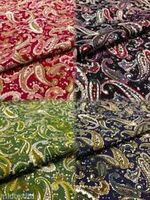 By the Metre Paisley Apparel-Everyday Clothing Craft Fabrics