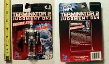 """Terminator 2 Judgement Day Endoskeleton 4"""" Figure Vintage 1995 carded"""