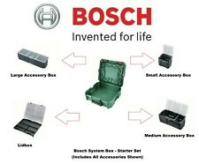 BOSCH System Box ® with Internal Organisers (1600A016CT)