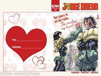 Judge Dredd Ongoing #3 Valentines Day Card Variant Comic Book 2016 - IDW