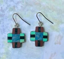Santo Domingo INLAID EARRINGS by Esther Aguilar