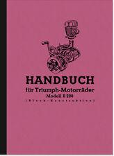 Triumph B 200 Block Bedienungsanleitung Betriebsanleitung Handbuch TWN Manual