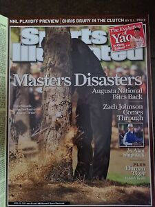 Sports Illustrated Magazine April 16, 2007 The Masters Golf Tiger Woods No Label