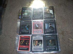 9 Star Wars Ccg Cards Lot54