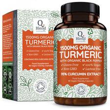 Nutravita Curcuma Turmeric 100% Bio - 1500mg Avec Poivre Noir Organique - 90...
