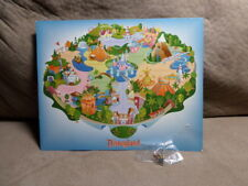 DLR Disneyland Attractions Pin Map with Hippo Pin GWP 2000 Limited Edition NEW