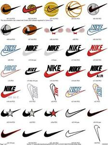 75 NIKE SWOOSH LOGOS EMBROIDERY MACHINE DESIGNS COLLECTION PES JEF HUS DST EXP