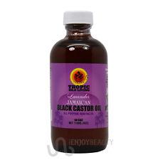 "Tropic Isle Living ""Lavender"" Jamaican Black Castor Oil 4oz w/Free Applicator"