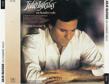 "JULIO IGLESIAS ""UN HOMBRE SOLO"" HARD TO FIND EARLY SPANISH CD EDITION NO BARCODE"