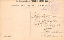 2915) WW1 MARINA FRANCHIGIA DEL REGIO CACCIATORPEDINIERE IRREQUIETO.