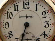 Antique Illinois Bunn Special Railroad RR 21 Jewel 6 Positions Pocket Watch