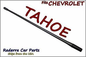 "FITS: 1992-2005 Chevy Tahoe - 13"" SHORT Custom Flexible Rubber Antenna Mast"