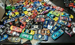 Huge 50 Plus lot toy cars NASCAR Racing Champion & Other Brands RACE CARS
