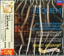 ERNEST ANSERMET-FAURE: REQUIEM / PELLEAS ET MELISANDE. ETC.-JAPAN CD Ltd/Ed B50