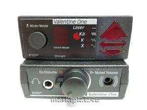 CONCEALED DISPLAY + REMOTE AUDIO ADAPTER COMBO FOR VALENTINE ONE V1 ESP NEW TOP