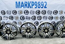 """Mercedes E Class W212 AMG 19"""" Spider Alloy Wheel SET OF FOUR NIGHT EDITION"""
