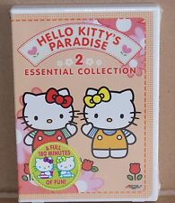 HELLO KITTY'S PARADISE - ESSENTIAL COLLECTION 2 (DVD 2003, 2-Disc Set) R1 NEW