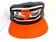Vintage MLB San Francisco Giants Par Cap Made In USA Hat New Old Stock