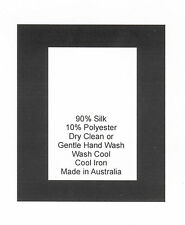 250 Care Labels on soft satin - Silk Polyester Made in Australia