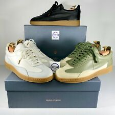 Ronnie Fieg World of Niche Season 4 Crosscourt White Black Olive Size 8.5 9.5