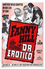 Fanny Hill cumple Dr Erotico Cartel 01 A4 10x8 impresión fotográfica