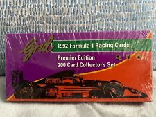 NEW & SEALED Grid 1992 Formula 1 Racing Cards Premier Edition 200 Card Set