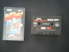 Buzz Off X MSX Cassette Original