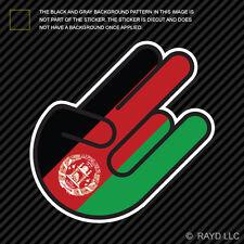 Afghanistan Shocker Sticker Die Cut Decal Self Adhesive Vinyl AFG AF
