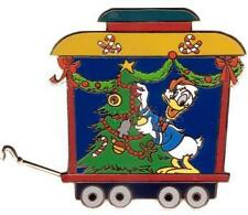 Disney Auctions A Very Merry Xmas Train Donald Duck Le 100 Pin