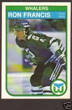 1982-83 OPC Hockey Ron Francis RC #123 Whalers NM/MT