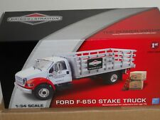 BRIGGS & STRATTON FORD F-650 STAKE TRUCK FIRST GEAR 1ST