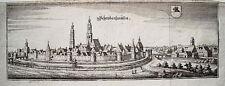 Schrobenhausen  Bayern echter alter  Merian Kupferstich 1650