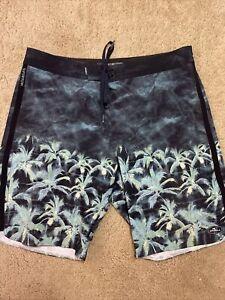 O'neill Superfreak Board Shorts Multi Color Swim Suit Men's Size 32