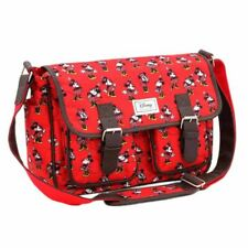 Classic Minnie Mouse Cheerful Red Satchel Bag Handbag
